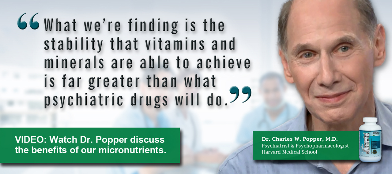 0 Q and A with Harvard psychiatrist and psychopharmacologist Dr. Charles Popper