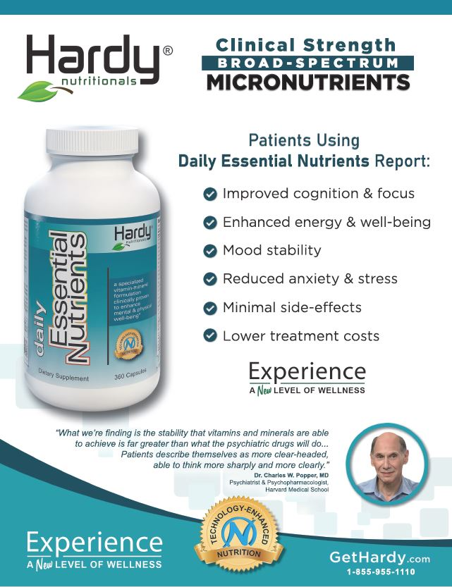 Daily Essential Nutrients Brochure