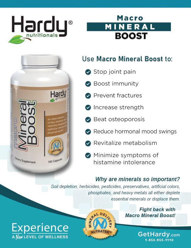 Macro Mineral Boost Brochure