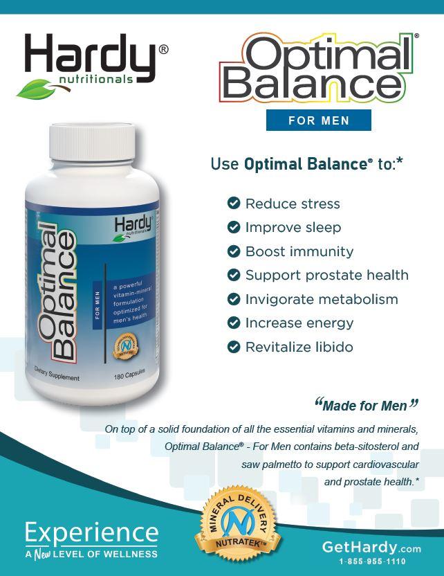 Optimal Balance For Men Brochure
